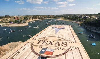 Red Bull Cliff Diving Texas USA