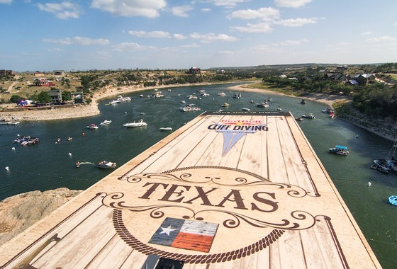 Red Bull Cliff Diving Texas