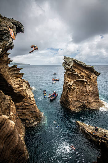 Red Bull Cliff Diving Azores Portugal