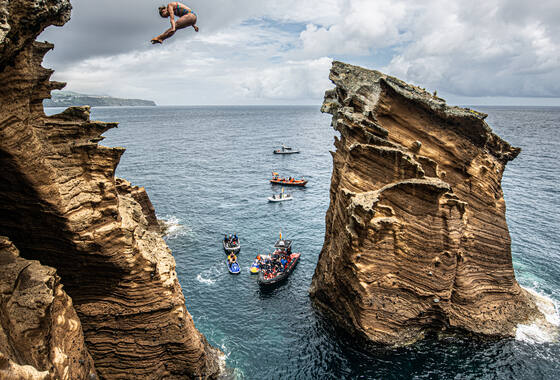 Red Bull Cliff Diving Azoren