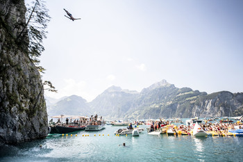 Red Bull Cliff Diving Sisikon Sisikon, Switzerland